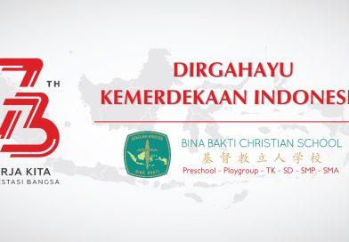 Dirgahayu Republik Indonesia ke-73th